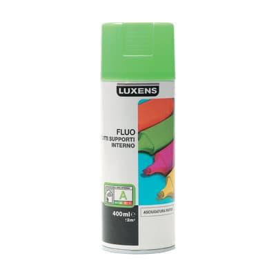 Smalto spray LUXENS Fluo verde fluorescente 0.0075 L
