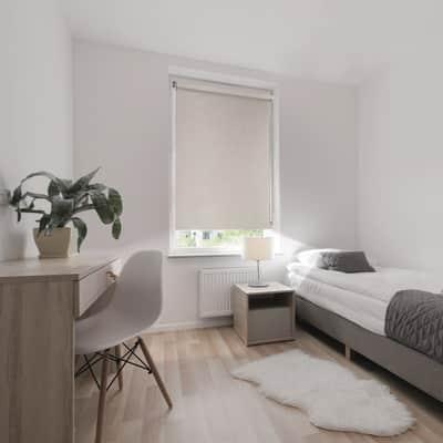 Tenda a rullo Ancona oscurante beige 90x250 cm