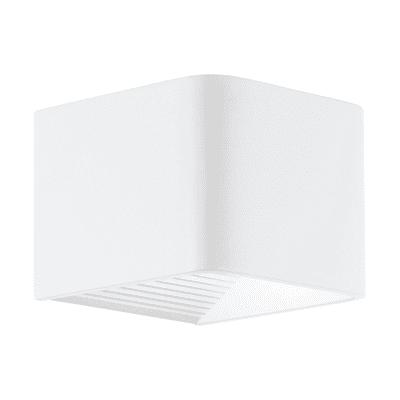 Applique Doninni LED integrato in alluminio, bianco, 5.4W 430LM IP44 EGLO