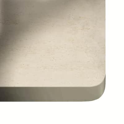 Piano cucina su misura in dekton Danae grigio chiaro , spessore 2 cm