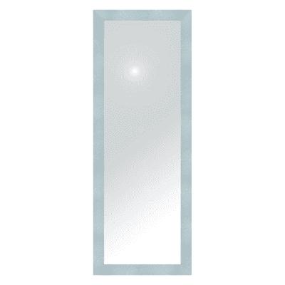 Specchio New York rettangolare argento 40x125 cm