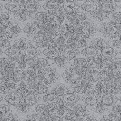 Carta da parati Damas glitter grigio
