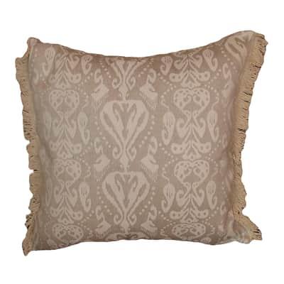 Cuscino grande Jade marrone 60x60 cm
