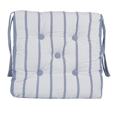 Cuscino per sedia INSPIRE Toscana blu 40x40 cm