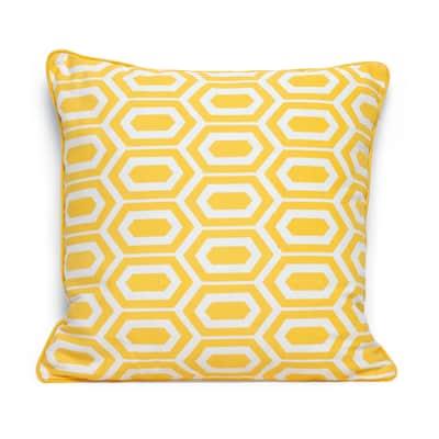 Cuscino INSPIRE Amy giallo 40x40 cm