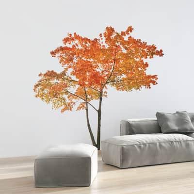 Sticker Orange tree 9x106 cm