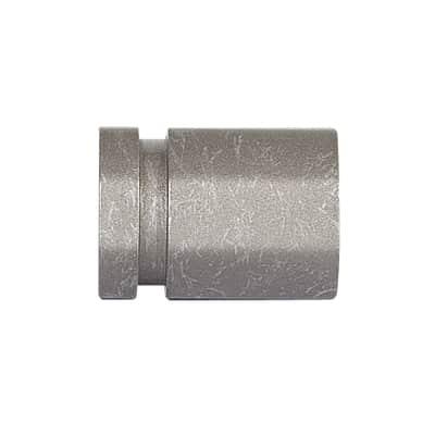Finale per bastone Ø20mm Tappo tappo in acciaio grigio anticato INSPIRE Set di 2 pezzi