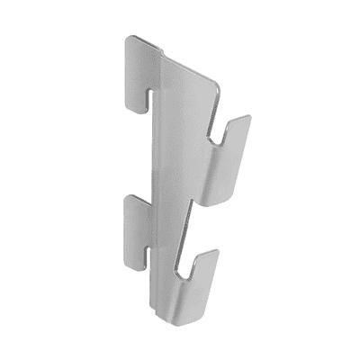 Accessori di fissaggio grigio / argento
