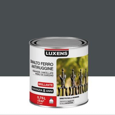 Smalto antiruggine LUXENS grigio zincato 0.75 L