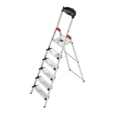 Scaletta HAILO xxl in alluminio 6 gradini