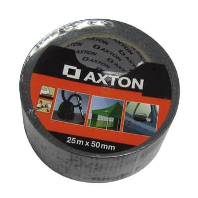 Nastro adesivo AXTON 50 mm x 25 m nero