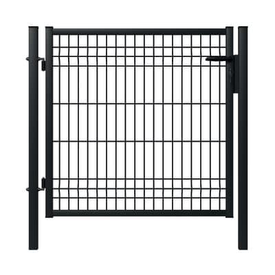 Cancello / portello Lario in acciaio galvanizzato plastificato L 1 x H 1 m