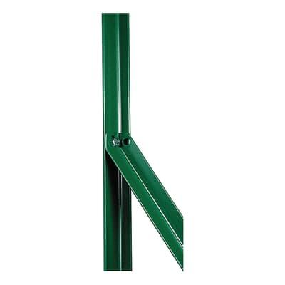 Palo in acciaio plastificato Saetta in angolare plastificata 25x25mm L 2,5 x P 2.5 x H 120 cm