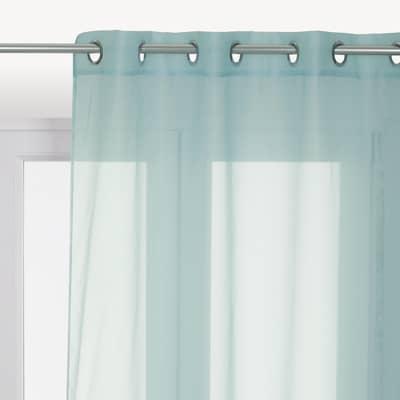 Tenda INSPIRE Polyone azzurro occhielli 140x280 cm
