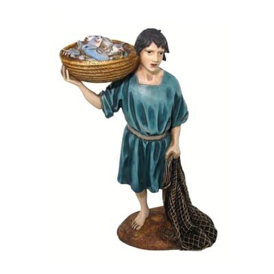 Figura decorativa in resina H 12 cm