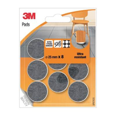 Pattino 3M SP87A35 Ø 25 mm, 8 pezzi