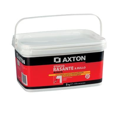 Stucco in pasta AXTON Rasante a rullo 5 kg bianco