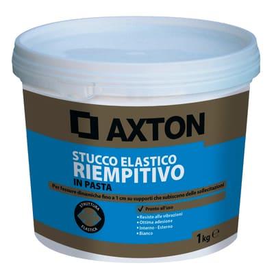 Stucco in pasta AXTON Elastico 1 kg bianco