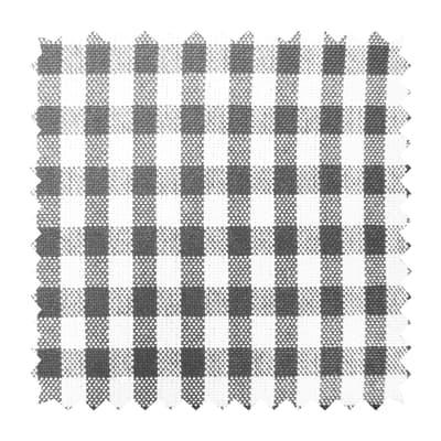Tessuto Rusticana vichy grigio 300 cm