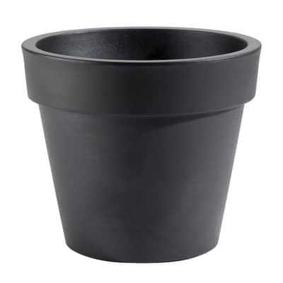 Vaso Super in plastica colore nero H 52 cm, Ø 60 cm