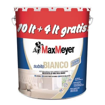 Pittura murale Subito Bianco LUXENS 14 L bianco