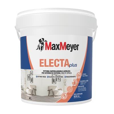 Pittura murale ElectaPlus MAX MEYER 4 L bianco