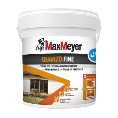 Pittura al quarzo MAX MEYER fine bianco 4 L