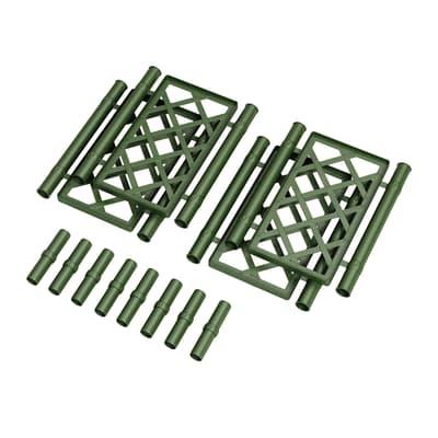 Traliccio fisso in plastica (polipropilene) Quadra L 43 x H 53 cm, Sp 5 mm