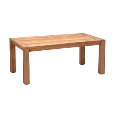 Tavolo da giardino rettangolare Australia con piano in legno L 100 x P 180 cm