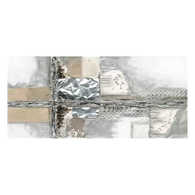 Quadro dipinto a mano Deep Breath 50x110 cm