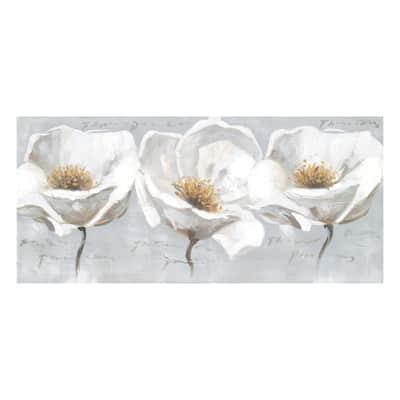 Quadro su tela Sunlight flower 50x110 cm