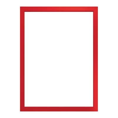 Cornice INSPIRE Easy rosso per foto da 21x29.7(A4) cm