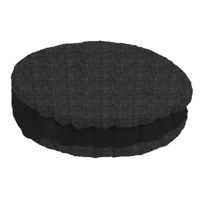 Cuscino da pavimento INSPIRE Ios nero 45x45 cm