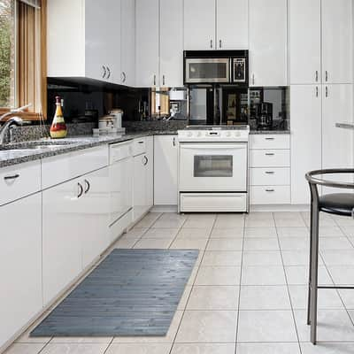 Tappeto Cucina antiscivolo Open naturale 200x80 cm