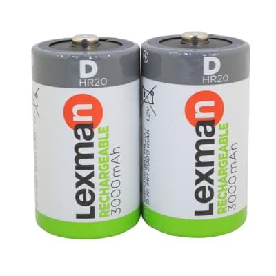 Pila ricaricabile HR20 LEXMAN 844973 2 batterie
