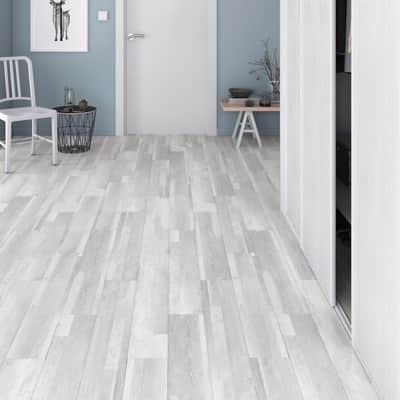Pavimento pvc flottante clic+ Rough Sp 4.2 mm bianco