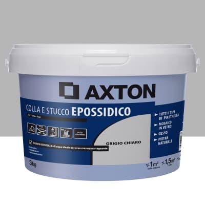 Stucco in pasta Epossidica AXTON 3 kg grigio chiaro