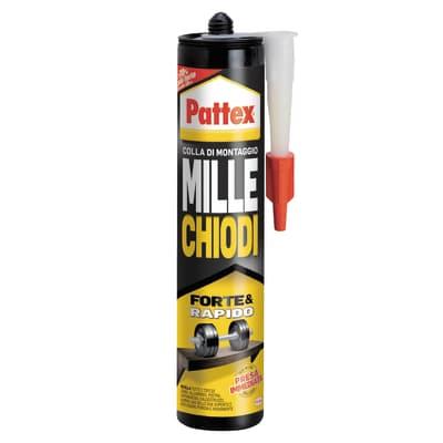 Colla Millechiodi Forte&Rapido PATTEX bianco 400 gr