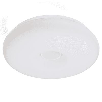 Plafoniera moderno Donut LED integrato bianco D. 40 cm 40x40 cm, INSPIRE
