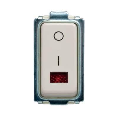 Interruttore FEB Click-Laser bianco