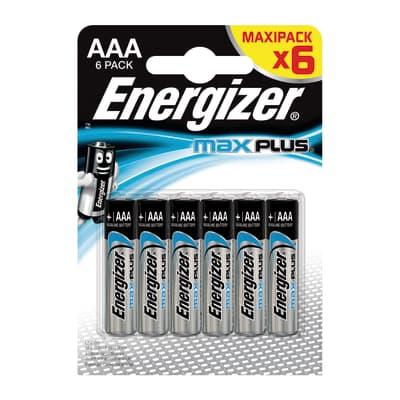Pila AAA ENERGIZER Max Plus 6pz 6 batterie