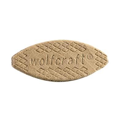 Piastrine WOLFCRAFT in legno 23  x 61 mm