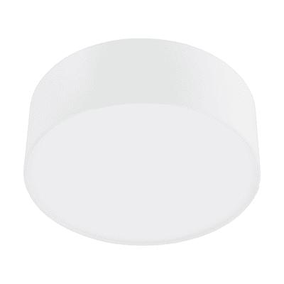 Plafoniera moderno SITIA bianco, in tessuto,  D. 29 cm 29 cm, INSPIRE