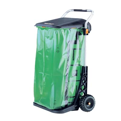 Pattumiera Carry Cart CLABER manuale multicolor 110 L