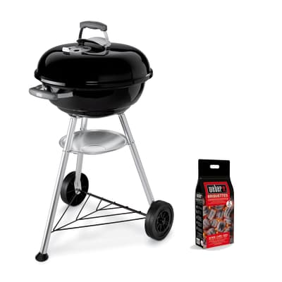 Barbecue a carbonella WEBER Kettle D. 46 cm