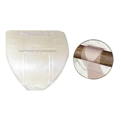 Anelli Ø20mm in plastica trasparente grezzo, 10 pz