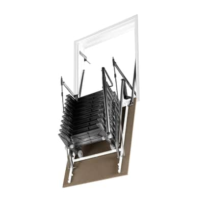 Scala retrattile Aci Alluminio 70 x 90 cm