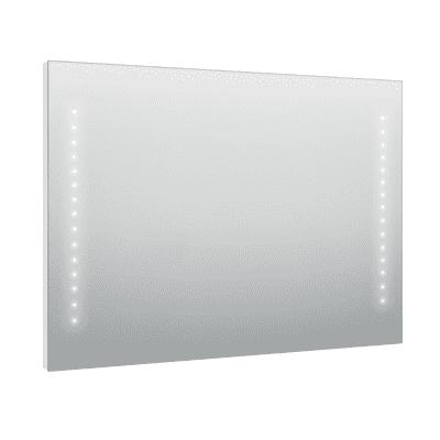 Specchio con illuminazione integrata bagno rettangolare Hollywood L 90 x H 70 cm SENSEA