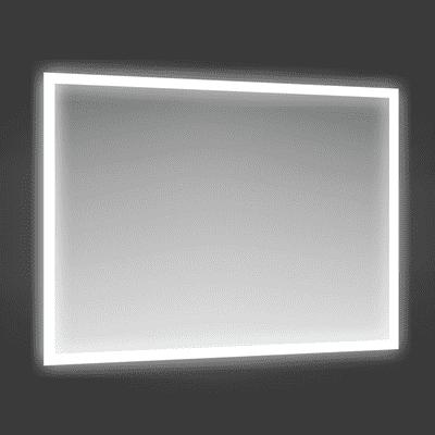Specchio con illuminazione integrata bagno rettangolare Fog L 90 x H 70 cm