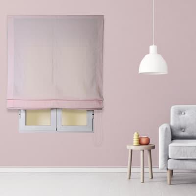 Tendina pieghevole in tessuto INSPIRE Aire rosa 75x175 cm